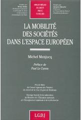Mobilité des sociétés dans l'espace européen